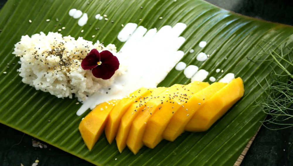 El coco en la cocina tailandesa