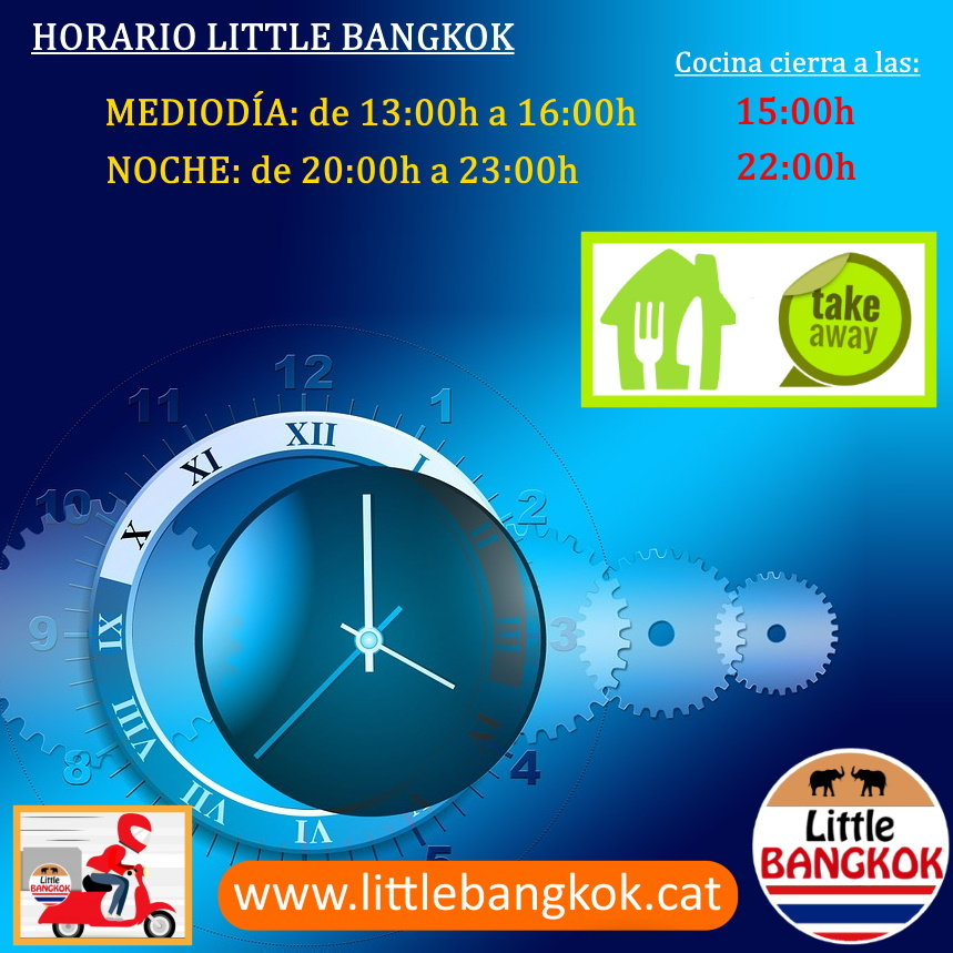 Horario Little Bangkok